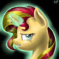 Sunset Shimmer by BudgieFlitter