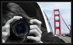 Riding The Golden Gate Bridge by MysteriousTremendum