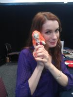 Felicia Day and Codex Doll by Scream-Deafening