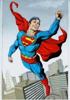 Superman Gary Frank Colour by donchild