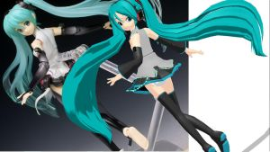 Miku Figma pose Download 2 by RiSama