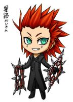 Chibi Axel by Coley-wog