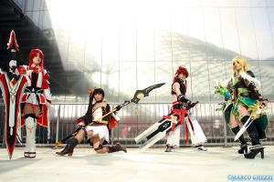 Elsword Cosplayers by MiyuShizuki
