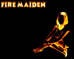 Fire maiden by TerryWiltshire
