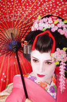melancholic Maiko by VampireIonFortuna