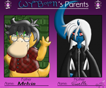 PKMNA: Parents Meme - Melvin And Giselle by Rapha-chan