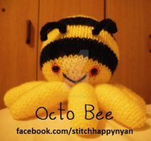 Octo Bee by Stitch-Happy