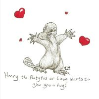 Henry, the Platypus of Love by Melyon