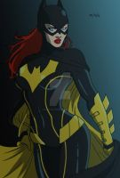 Batgirl Gordon by blackcowledbat