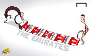 Arsenal roll out the red carpet for Ozil by OmarMomani