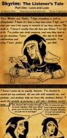 Skyrim The Listener's Tale Part One by SlayerSyrena