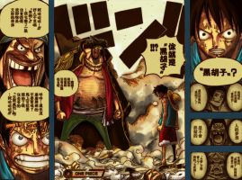 One Piece chap 543 p18-19 by bladagun