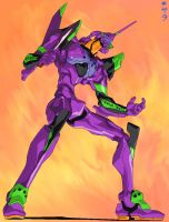 Eva Unit 01 by Reichan24