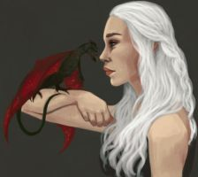 Mother Of Dragons by RaynaCendre