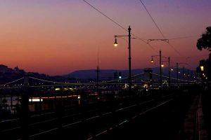 Budapest sunset by Ilharess