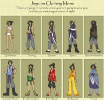 Sini - Clothes Meme -CCJ... by geniefox