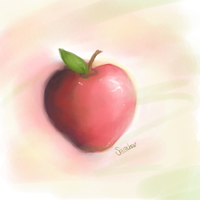 Apple by Buried-Above-Love