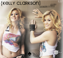 kelly clarkson by Angelic-Betrayer