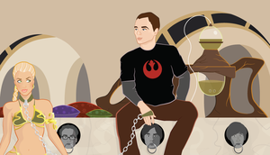 Sheldon Wars by Flufflepot