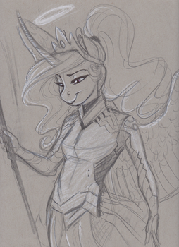 Bronycon Commish- Mercy Celestia by Earthsong9405