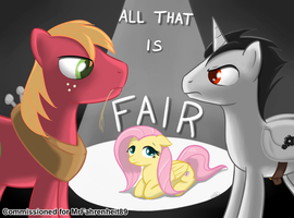 All That Is Fair Cover Commission by TheParagon