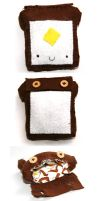 Toast Pouch :: Felt work by Toasts