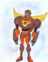 Rodimus Prime entire body transf animated by ailgara