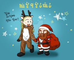 legolas/gimli by 3393339