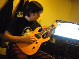 Playing Guitar 01 by PCU-Stockage