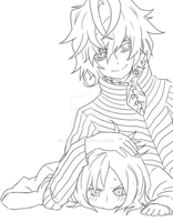 Little Yamato and Alcor by n4391