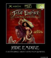 Jade Empire Motivational Poster by slyboyseth