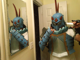 Monster Hunter Cosplay: Lagiacrus Armor by Kuro-Dachi