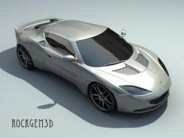 Textured Lotus Evora 2 by rockgem3d