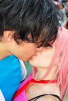 Lucy and Kouta Elfen Lied Cosplay by walkiria2