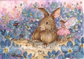 ACEO Rosey and Tapper by JoannaBromley