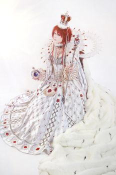 Trinity Blood - Queen Esther by adelhaid