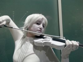 White Violin by PoisonedPirate