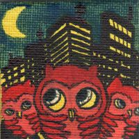 owlets and the city by GLoeNn