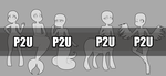 [Base] P2U Human_Monster Variety Pack by tailsOrigins