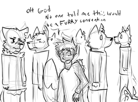 A Summary Of That Comic I'm Doing After Two-faced by Deercliff