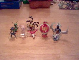 My Pokemon Figurines by PikaYugi4Ever93