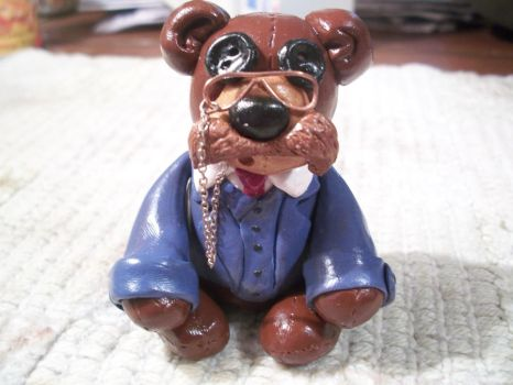 Teddy Roosevelt Clay Figurine by The-Muzick-Girl