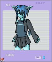 PKMN.471: Glaceon by kitted