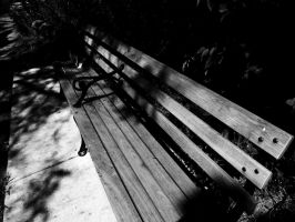 Bench of the lost and broken by o0oO-araceli-Oo0o