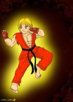 KEN from streetfighter - request Ferrypras666 by Chello-Chellos