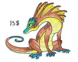 Dragon design for sale by griffsnuff