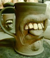 tongue mug 2 WIP by thebigduluth
