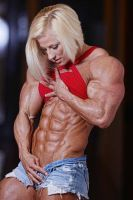 Super Blonde 8-Pack Abs by Turbo99