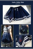 Sailor Lolita Skirt by Thalionrin