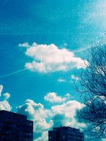 Day 66. Blue sky by lilvdzwan